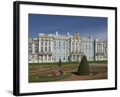 Catherine's Palace, St. Petersburg, Russia, Europe-James Emmerson-Framed Art Print