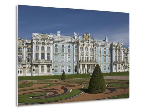 Catherine's Palace, St. Petersburg, Russia, Europe-James Emmerson-Metal Print
