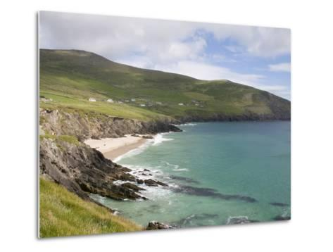View From Slea Head Drive, Dingle Peninsula, County Kerry, Munster, Republic of Ireland, Europe--Metal Print