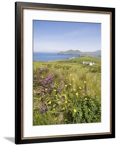 Valentia Island, Ring of Kerry, County Kerry, Munster, Republic of Ireland, Europe--Framed Art Print