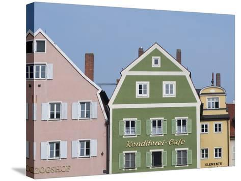 Regensburg, Bavaria, Germany, Europe-Michael Snell-Stretched Canvas Print