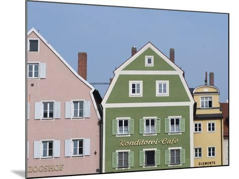 Regensburg, Bavaria, Germany, Europe-Michael Snell-Mounted Photographic Print