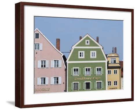 Regensburg, Bavaria, Germany, Europe-Michael Snell-Framed Art Print