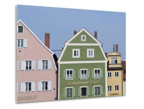 Regensburg, Bavaria, Germany, Europe-Michael Snell-Metal Print