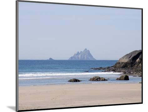 Ring of Kerry With the Skellig Rock in Distance, County Kerry, Munster, Republic of Ireland, Europe--Mounted Photographic Print
