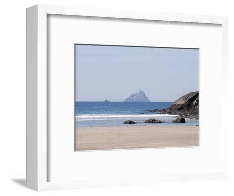 Ring of Kerry With the Skellig Rock in Distance, County Kerry, Munster, Republic of Ireland, Europe--Framed Art Print