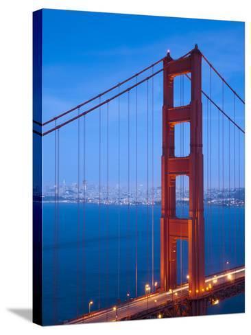 Golden Gate Bridge, San Francisco, California, USA-Alan Copson-Stretched Canvas Print
