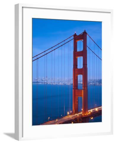 Golden Gate Bridge, San Francisco, California, USA-Alan Copson-Framed Art Print