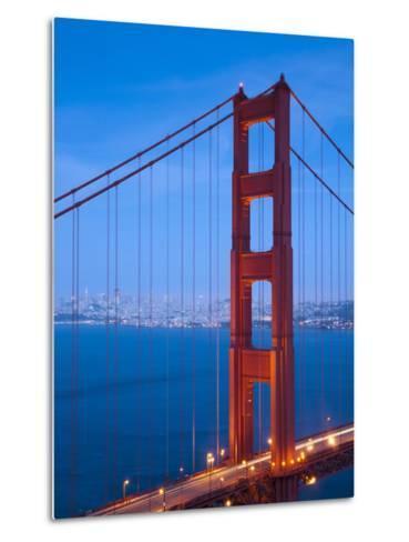 Golden Gate Bridge, San Francisco, California, USA-Alan Copson-Metal Print