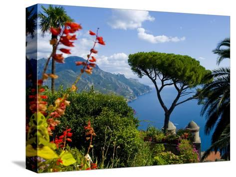 Rufolo View, Ravello, Amalfi Coast, UNESCO World Heritage Site, Campania, Italy, Europe-Charles Bowman-Stretched Canvas Print