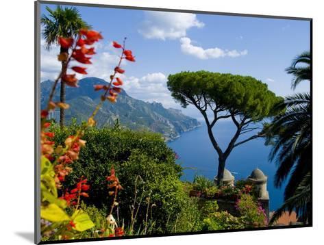 Rufolo View, Ravello, Amalfi Coast, UNESCO World Heritage Site, Campania, Italy, Europe-Charles Bowman-Mounted Photographic Print