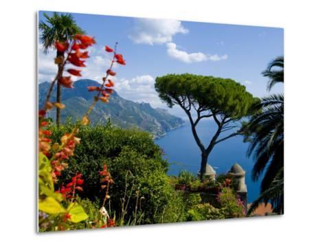 Rufolo View, Ravello, Amalfi Coast, UNESCO World Heritage Site, Campania, Italy, Europe-Charles Bowman-Metal Print