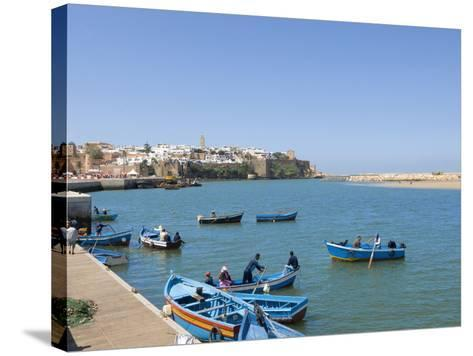 River Bouregreg, Rabat, Morocco, North Africa, Africa-Graham Lawrence-Stretched Canvas Print