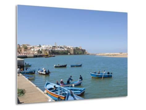 River Bouregreg, Rabat, Morocco, North Africa, Africa-Graham Lawrence-Metal Print