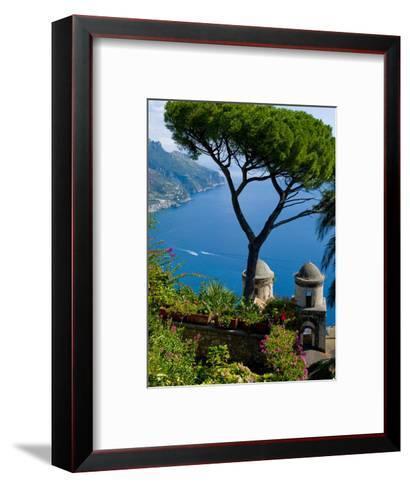 Rufolo View, Ravello, Amalfi Coast, UNESCO World Heritage Site, Campania, Italy, Europe-Charles Bowman-Framed Art Print