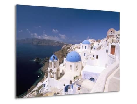 Oia (Ia), Island of Santorini (Thira), Cyclades Islands, Aegean, Greek Islands, Greece, Europe-Sergio Pitamitz-Metal Print
