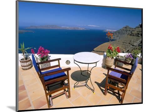 Fira, Island of Santorini (Thira), Cyclades Islands, Aegean, Greek Islands, Greece, Europe-Sergio Pitamitz-Mounted Photographic Print