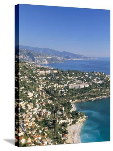 Cap Martin, Cote D'Azur, Alpes-Maritimes, Provence, French Riviera, France, Mediterranean, Europe-Sergio Pitamitz-Stretched Canvas Print