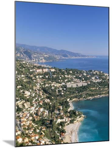 Cap Martin, Cote D'Azur, Alpes-Maritimes, Provence, French Riviera, France, Mediterranean, Europe-Sergio Pitamitz-Mounted Photographic Print
