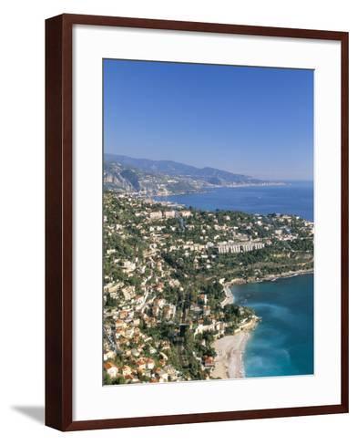 Cap Martin, Cote D'Azur, Alpes-Maritimes, Provence, French Riviera, France, Mediterranean, Europe-Sergio Pitamitz-Framed Art Print