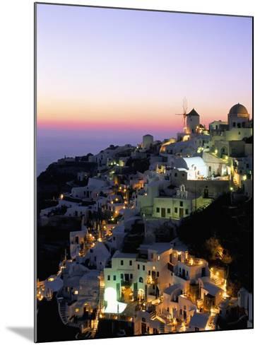 Oia (Ia), Island of Santorini (Thira), Cyclades Islands,Aegean, Greek Islands, Greece, Europe-Sergio Pitamitz-Mounted Photographic Print