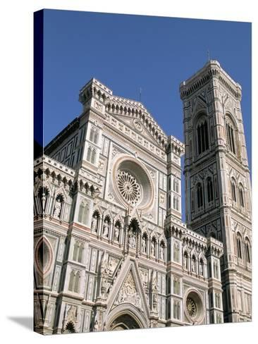 Duomo and Campanile (Cathedral and Bell Tower), Florence, UNESCO World Heritage Site, Italy-Sergio Pitamitz-Stretched Canvas Print