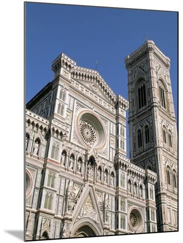 Duomo and Campanile (Cathedral and Bell Tower), Florence, UNESCO World Heritage Site, Italy-Sergio Pitamitz-Mounted Photographic Print