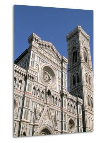 Duomo and Campanile (Cathedral and Bell Tower), Florence, UNESCO World Heritage Site, Italy-Sergio Pitamitz-Metal Print