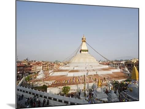 Boudha Stupa (Chorten Chempo), Boudhanath, Kathmandu, Nepal, Asia-Christian Kober-Mounted Photographic Print