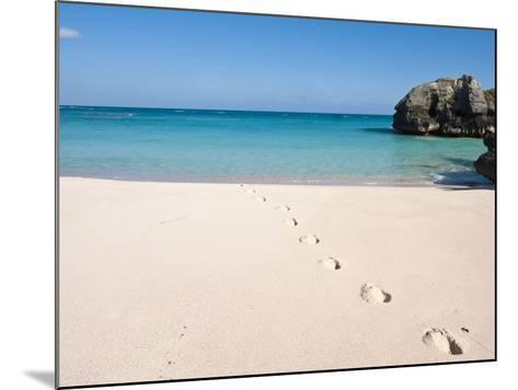 Warwick Long Bay, Jobson's Cove, Bermuda, Central America-Michael DeFreitas-Mounted Photographic Print