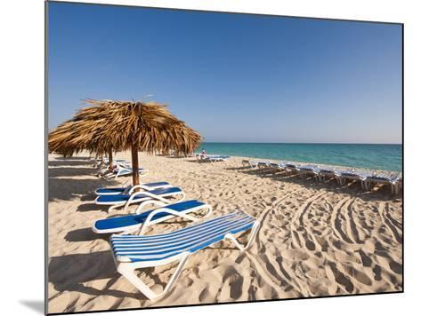 Beach at Cayo Santa Maria, Sol Cayo Santa Maria Resort, Cayo Santa Maria, Cuba-Michael DeFreitas-Mounted Photographic Print