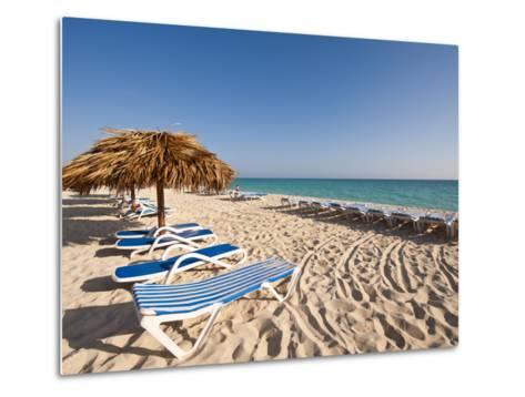 Beach at Cayo Santa Maria, Sol Cayo Santa Maria Resort, Cayo Santa Maria, Cuba-Michael DeFreitas-Metal Print