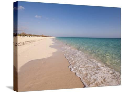 Beach at Cayo Santa Maria, Sol Cayo Santa Maria Resort, Cayo Santa Maria, Cuba-Michael DeFreitas-Stretched Canvas Print