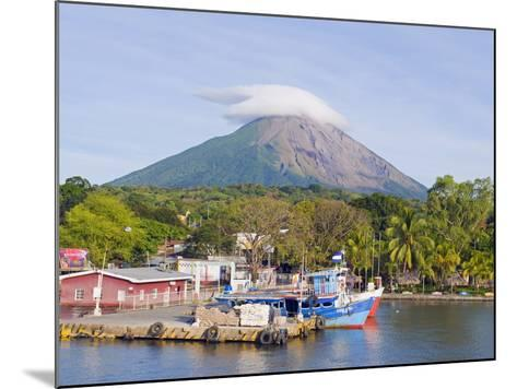 Harbour Below Volcan Concepcion, 1610M, Ometepe Island, Lake Nicaragua, Nicaragua, Central America-Christian Kober-Mounted Photographic Print