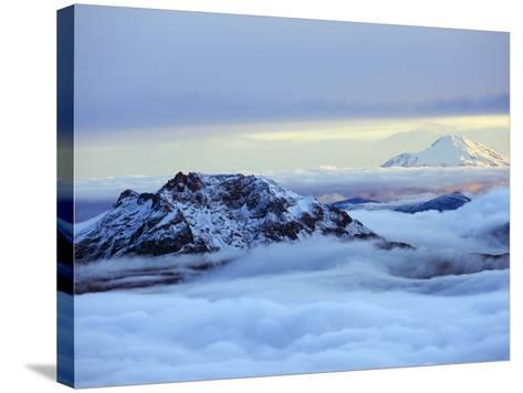 View From Volcan Cotopaxi, 5897M, the Highest Active Volcano in the World, Ecuador, South America-Christian Kober-Stretched Canvas Print