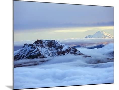 View From Volcan Cotopaxi, 5897M, the Highest Active Volcano in the World, Ecuador, South America-Christian Kober-Mounted Photographic Print