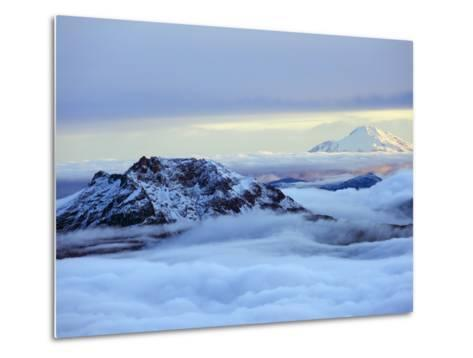 View From Volcan Cotopaxi, 5897M, the Highest Active Volcano in the World, Ecuador, South America-Christian Kober-Metal Print