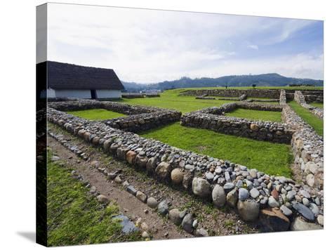 Inca Ruins, Historic Centre of Santa Ana De Los Rios De Cuenca, Cuenca, Ecuador-Christian Kober-Stretched Canvas Print