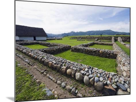 Inca Ruins, Historic Centre of Santa Ana De Los Rios De Cuenca, Cuenca, Ecuador-Christian Kober-Mounted Photographic Print