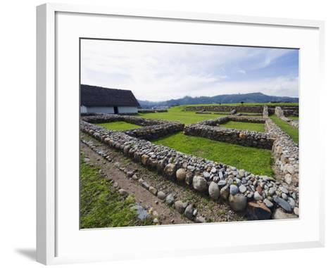 Inca Ruins, Historic Centre of Santa Ana De Los Rios De Cuenca, Cuenca, Ecuador-Christian Kober-Framed Art Print
