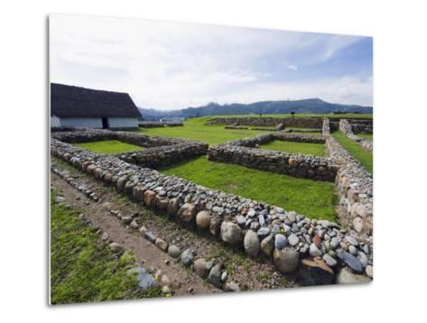 Inca Ruins, Historic Centre of Santa Ana De Los Rios De Cuenca, Cuenca, Ecuador-Christian Kober-Metal Print
