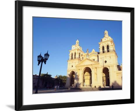 Cordoba Cathedral, Cordoba, Argentina, South America-Christian Kober-Framed Art Print
