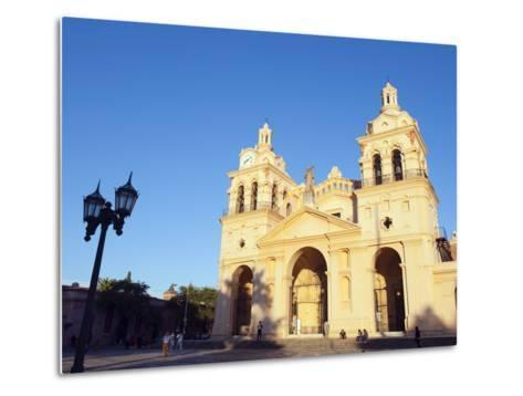 Cordoba Cathedral, Cordoba, Argentina, South America-Christian Kober-Metal Print