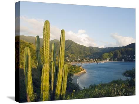 Taganga, Caribbean Coast, Colombia, South America-Christian Kober-Stretched Canvas Print