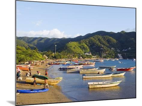 Taganga, Caribbean Coast, Colombia, South America-Christian Kober-Mounted Photographic Print