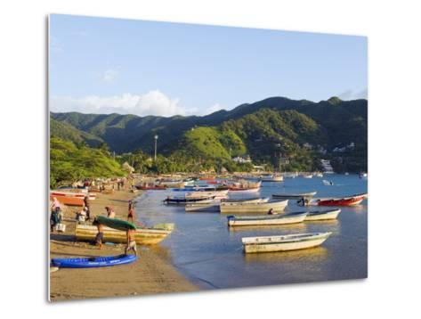 Taganga, Caribbean Coast, Colombia, South America-Christian Kober-Metal Print