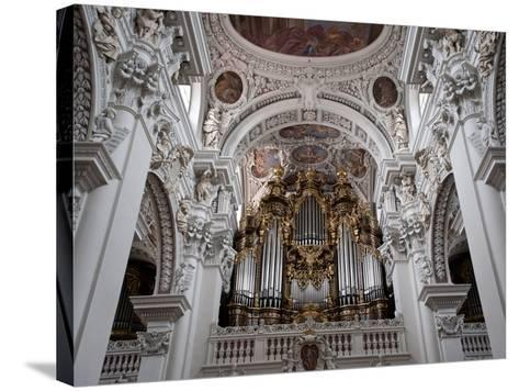 St. Stephan's Cathedral, Passau, Bavaria, Germany, Europe-Michael Snell-Stretched Canvas Print