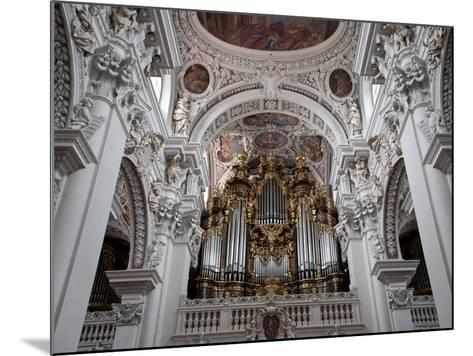 St. Stephan's Cathedral, Passau, Bavaria, Germany, Europe-Michael Snell-Mounted Photographic Print