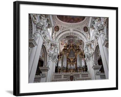 St. Stephan's Cathedral, Passau, Bavaria, Germany, Europe-Michael Snell-Framed Art Print