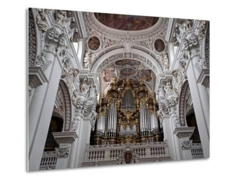 St. Stephan's Cathedral, Passau, Bavaria, Germany, Europe-Michael Snell-Metal Print